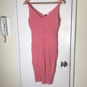 *NWT* H&M Coral Pink Tank Top Dress